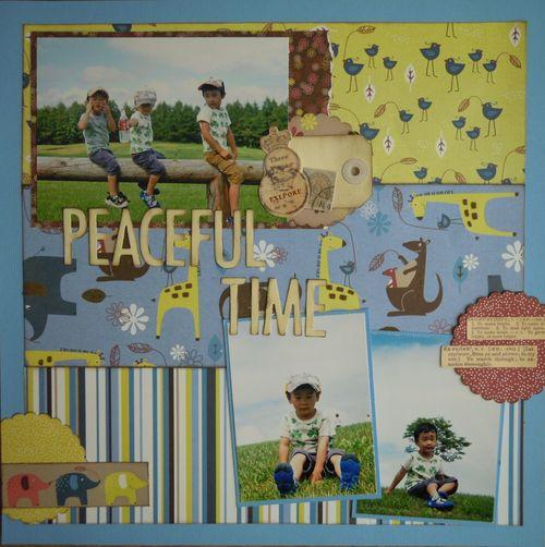 peaceful time